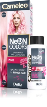 Delia Cosmetics Cameleo Neon Colors tinta lavabile per capelli biondi