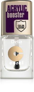 Delia Cosmetics Acrylic Booster τοπ βερνίκι νυχιών με μακράς διαρκείας επίδραση