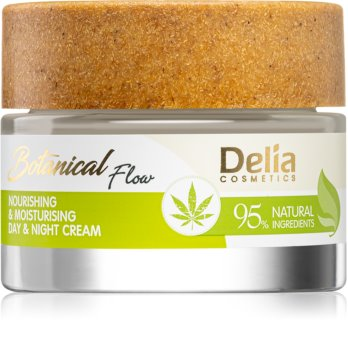 Delia Cosmetics Botanical Flow Hemp Oil Nourishing and Moisturizing Cream