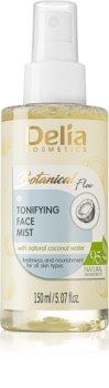 Delia Cosmetics Botanical Flow Coconut Water spray tonificante per il viso