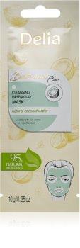 Delia Cosmetics Botanical Flow Coconut Water masque purifiant visage pour peaux grasses