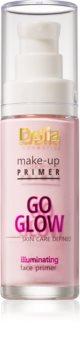 Delia Cosmetics Skin Care Defined Go Glow podkladová báza pre rozjasnenie a zjednotenie pleti