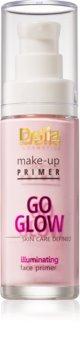 Delia Cosmetics Skin Care Defined Go Glow podlaga za posvetlitev in poenotenje kože