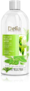 Delia Cosmetics Micellar Water Green Tea erfrischendes mizellares Reinigungswasser