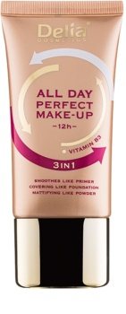 Delia Cosmetics All Day Perfect make-up 3 v 1