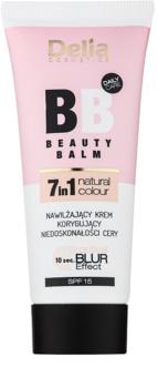 Delia Cosmetics Optical Blur Effect Beauty Balm hidratantna BB krema za nepravilnosti na licu SPF15
