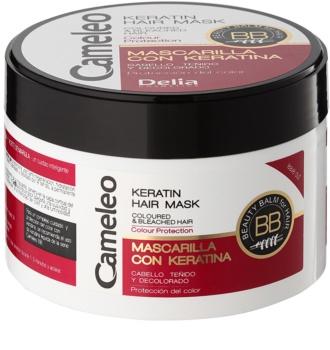 Delia Cosmetics Cameleo BB Keratine Masker  voor Gekleurd en Highlighted Haar