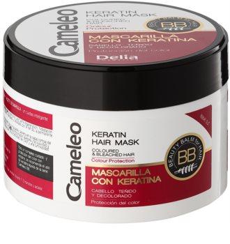 Delia Cosmetics Cameleo BB maseczka keratynowa do włosów farbowanych i po balejażu