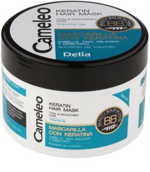 Delia Cosmetics Cameleo BB máscara de queratina para cabelo fino e sem volume