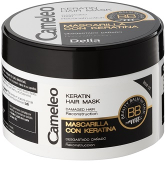 Delia Cosmetics Cameleo BB máscara de queratina para cabelo danificado