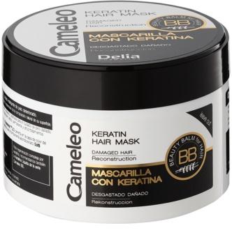 Delia Cosmetics Cameleo BB маска з кератином для пошкодженого волосся