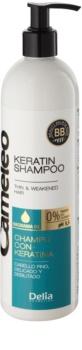 Delia Cosmetics Cameleo BB keratinski šampon za fine in tanke lase