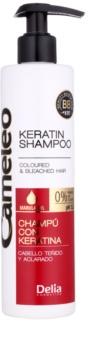 Delia Cosmetics Cameleo BB Keratine Shampoo  voor Gekleurd en Highlighted Haar