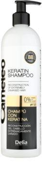 Delia Cosmetics Cameleo BB Keratine Shampoo  voor Beschadigd Haar