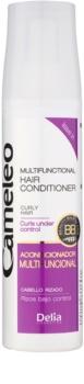 Delia Cosmetics Cameleo BB condicionador multifuncional em spray para cabelo ondulado