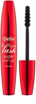 Delia Cosmetics Collagen Lash maskara za podaljšanje in privihanje trepalnic