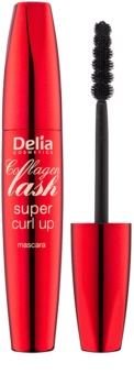 Delia Cosmetics Collagen Lash řasenka pro prodloužení a natočení řas