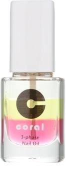 Delia Cosmetics Coral трифазна олійка для нігтів та кутикули