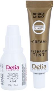 Delia Cosmetics Cameleo Pro Green barva za obrvi brez amoniaka