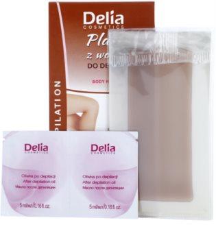 Delia Cosmetics Depilation Chocolate Fragrance Wax Ontharingsstips  voor het Lichaam