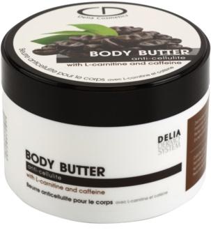 Delia Cosmetics Dermo System manteiga corporal  anticelulite