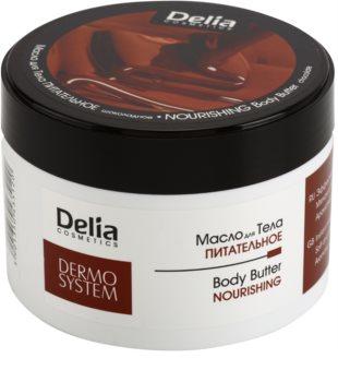 Delia Cosmetics Dermo System beurre corporel nourrissant au beurre de karité et chocolat