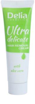Delia Cosmetics Depilation Ultra-Delicate szőrtelenítő krém lábakra