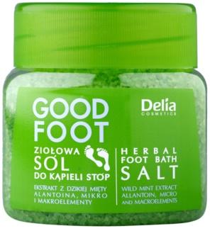 Delia Cosmetics Good Foot sales de baño de hierbas para pies