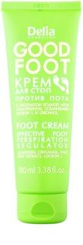 Delia Cosmetics Good Foot lábkrém az erőteljes izzadás ellen