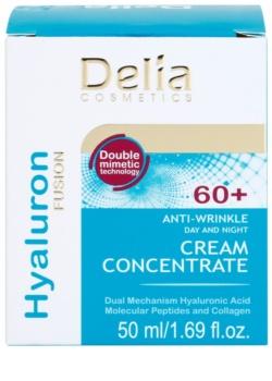 Delia Cosmetics Hyaluron Fusion 60+ protivráskový krém obnovující hutnost pleti