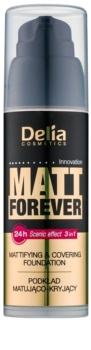 Delia Cosmetics Matt Forever make-up cu textura usoara