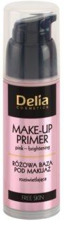 Delia Cosmetics Free Skin posvetlitvena podlaga za make-up