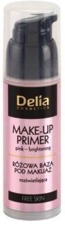 Delia Cosmetics Free Skin rozjasňující podkladová báze pod make-up
