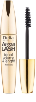 Delia Cosmetics Argan Lash maskara za volumen, dolžino in ločevanje trepalnic