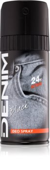 Denim Black Deo Spray for Men 150 ml