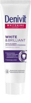 Denivit White & Brilliant bleichende Paste