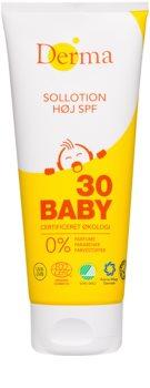 Derma Baby leche protectora para niños SPF 30