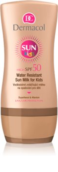 Dermacol Sun Kids latte abbronzante waterproof per bambini SPF 50