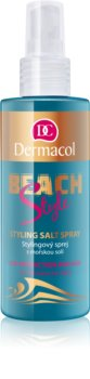 Dermacol Beach Style spray protector y de fijación para el cabello con sal marina