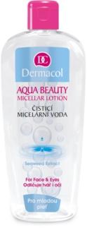Dermacol Aqua Beauty čistiaca micelárna voda pre mladú pleť