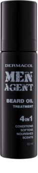 Dermacol Men Agent масло-грижа за брада 4 в 1