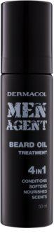Dermacol Men Agent ošetrujúci olej na bradu 4 v 1