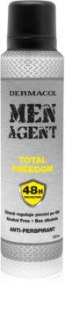 Dermacol Men Agent Total Freedom antitranspirante em spray