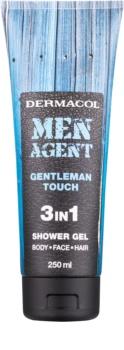Dermacol Men Agent Gentleman Touch gel de douche 3 en 1