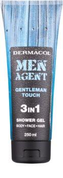 Dermacol Men Agent Gentleman Touch gel za prhanje 3v1