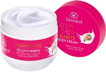 Dermacol Body Care Karité regeneracijska krema za telo  za suho do zelo suho kožo