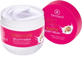 Dermacol Body Care Karité Regenerating Body Cream For Dry To Very Dry Skin