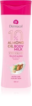 Dermacol Body Care Almond Oil lait corporel nourrissant pour peaux sèches