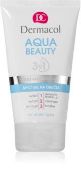 Dermacol Aqua Beauty Reinigungsgel für das Gesicht 3in1