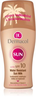 Dermacol Sun Water Resistant водоустойчив лосион за слънце SPF 10